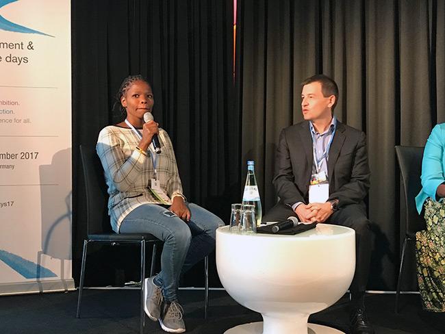 Nontuthuko Xaba shares her experiences